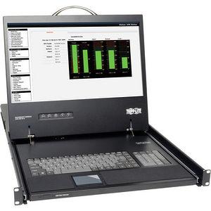 """Tripp Lite B021-000-17 Rack Console KVM Cable Kit w/ 19"""" LCD 1U PS/2 TAA GSA"""