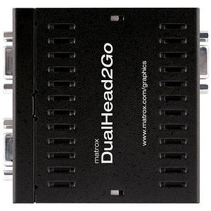 Matrox D2G-A2A-IF DualHead2Go Analog Multiview Device