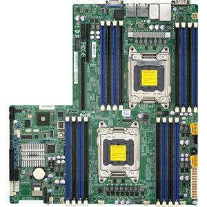 Supermicro MBD-X9DRW-3F-B Server Motherboard - Intel C606 Chipset - Socket R LGA-2011 - Bulk