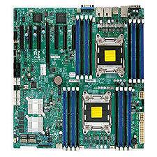 Supermicro MBD-X9DRH-7F-B Server Motherboard - Intel C602-J Chipset - Socket R LGA-2011 - Bulk