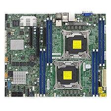 Supermicro MBD-X10DRL-CT-O Server Motherboard - Intel C612 Chipset - Socket R LGA-2011 - 1 x Retail