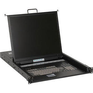 iStarUSA WL-21908 Dual Rail Rackmount LCD
