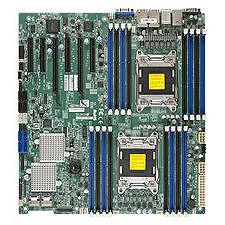 Supermicro MBD-X9DR7-LN4F-B Server Motherboard - Intel C602 Chipset - Socket R LGA-2011 - Bulk