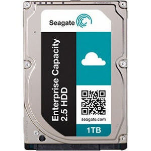 "Seagate ST1000NX0333 1TB SAS 12Gb/s 7200RPM 2.5"" 128MB Cache Enterprise HDD"