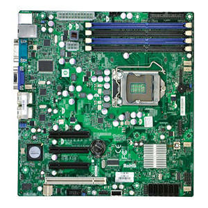 Supermicro MBD-X8SIL-B Server Motherboard - Intel 3400 Chipset - Socket 1156 - Bulk Pack