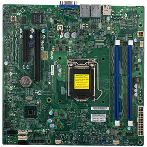 Supermicro MBD-X10SLL-SF-O Server Motherboard - Intel C222 Chipset - Socket H3 LGA-1150 - Retail