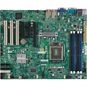 Supermicro MBD-X9SCI-LN4-O Server Motherboard - Intel C204 Chipset - Socket H2 LGA-1155