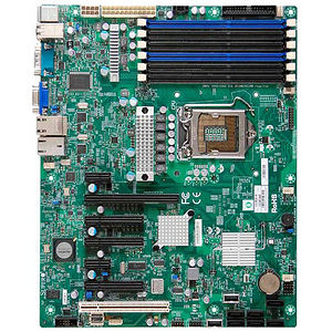 Supermicro MBD-X8SIA-F-O Server Motherboard - Intel 3420 Chipset - Socket H LGA-1156 - Retail Pack