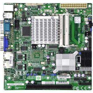 Supermicro MBD-X7SPE-HF-D525-B Desktop Motherboard - Intel ICH9R Chipset - Intel Atom D525 2 Core