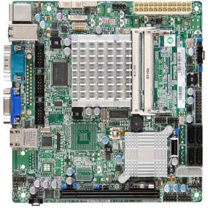 Supermicro MBD-X7SPA-HF-D525-O Desktop Motherboard - Intel ICH9R Chipset - Intel Atom D525 2 Core