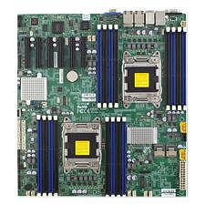 Supermicro MBD-X9DRD-7LN4F-B Server Motherboard - Intel C602-J Chipset - Socket R LGA-2011 - Bulk