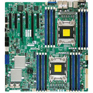 Supermicro MBD-X9DR7-LN4F-JBOD-O Server Motherboard - Intel C602 Chipset - Socket R LGA-2011