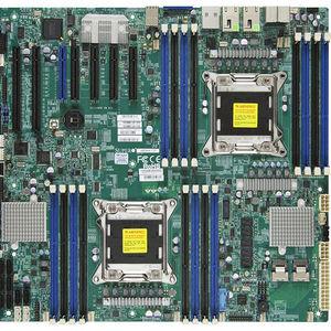 Supermicro MBD-X9DAX-7F-O Server Motherboard - Intel C602-J Chipset - Socket R LGA-2011 - Retail