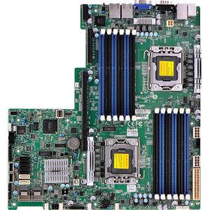 Supermicro MBD-X9DBU-IF-B Server Motherboard - Intel C602 Chipset - Socket B2 LGA-1356 - Bulk