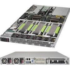 Supermicro SYS-1028GQ-TR 1U Rackmount Barebone - Intel C612 - 2X Socket LGA 2011-v3 - 4X GPU
