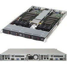 Supermicro SYS-1028TR-T Barebone - 1U Rack-mountable - Socket LGA 2011-v3 - 2 x Processor Support