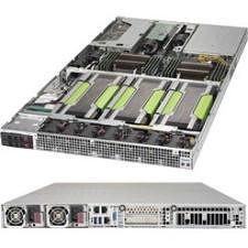 Supermicro SYS-1028GQ-TRT 1U Rackmount Barebone - Intel C612 - 2X Socket LGA 2011-v3 - 4X GPU