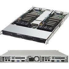 Supermicro SYS-6018TR-TF Barebone - 1U Rack-mountable - Socket LGA 2011-v3 - 2 x Processor Support
