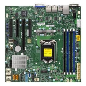 Supermicro MBD-X11SSM-O Server Motherboard - Intel C236 Chipset - Socket H4 LGA-1151 - Bulk Pack