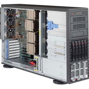 Supermicro SYS-8048B-TR3F Barebone - 4U Tower - Quad Socket R1 LGA-2011 - Intel C602J Chipset