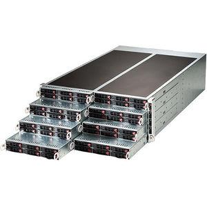 Supermicro SYS-F618R2-RC1+ 4U Barebone - Intel C612 Chipset - 8 Nodes - Socket LGA 2011-v3 - 2x CPU