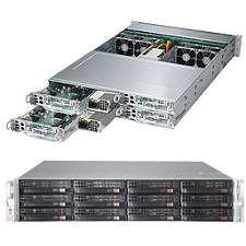 Supermicro SYS-6028TP-HTFR Barebone System - 2U Rackmount - Intel C612 Chipset - Socket LGA 2011-v3
