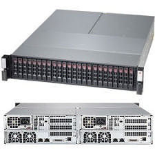 Supermicro SSG-2027B-DE2R24L 2U Barebone - Intel C602J Chipset - 2 Nodes - B2 LGA-1356 - 2 x CPU