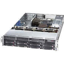 Supermicro AS -2022G-URF4+ 2U Barebone - AMD SR5670 Chipset - Socket G34 LGA-1944 - 2 x CPU