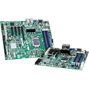Intel S1200BTS Server Motherboard - Chipset - Socket H2 LGA-1155