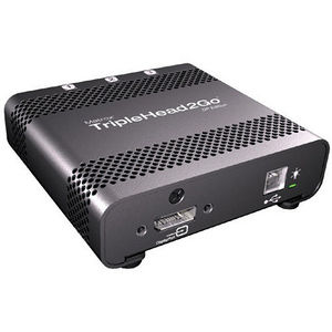 Matrox T2G-DP-MIF TripleHead2Go Multiview Device - 3 x DisplayPort - 3 x Monitors Supported