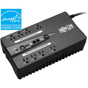 Tripp Lite ECO550UPSTAA UPS 550VA 300W Eco Green Battery Back Up 120V USB RJ11 TAA GSA