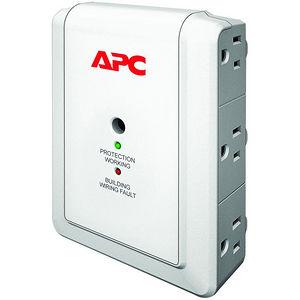 APC P6WT SurgeArrest Essential 6-Outlets Surge Suppressor