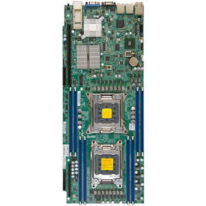 Supermicro MBD-X9DRT-HIBQF-B Server Motherboard - Intel C602 Chipset - Socket R LGA-2011 - Bulk