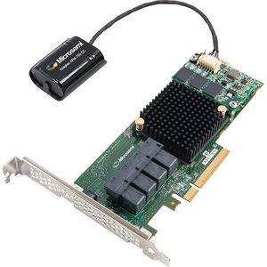 Adaptec 2274600-R BY PMC 71605Q SAS/SATA 6GB/S PCIE GEN3 RAID ADAPTER INCLUDES MAXCACHE 3.