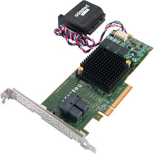 Adaptec 2274300-R BY PMC 7805Q SAS/SATA 6GB/S PCIE GEN3 RAID ADAPTER INCLUDES MAXCACHE 3.0