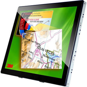 """3M 98-0003-4097-0 C1910PS 19"""" LCD Touchscreen Monitor - 5:4 - 5 ms"""