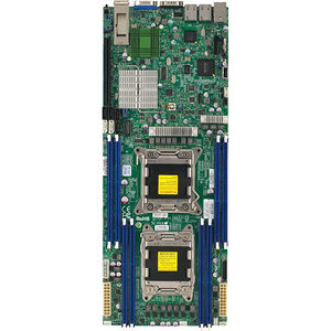 Supermicro MBD-X9DRT-F-B Server Motherboard - Intel C602-J Chipset - Socket R LGA-2011 - Bulk