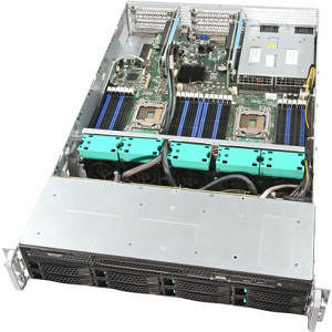 Intel R2312GZ4GS9 2U Rackmount Server Barebone - Socket R LGA-2011 - 2 x Processor Support