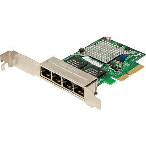 Supermicro AOC-SGP-I4 Compact and Feature-Rich 4-Port Ethernet Controller