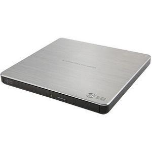 LG GP60NS50 External Ultra Slim Portable DVDRW Silver - Retail Pack