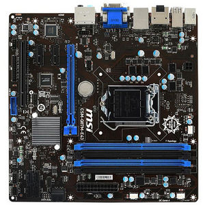 MSI CSM-Q87M-E43 Desktop Motherboard - Intel Chipset - Socket H3 LGA-1150