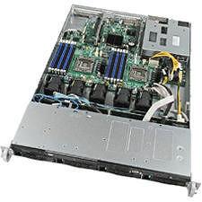 Intel R1304BB4GS9 1U Rackmount Server Barebone - Socket B2 LGA-1356 - 2 x Processor Support