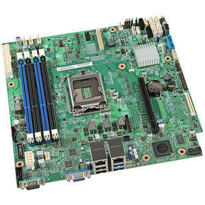 Intel BBS1200V3RPM Server Motherboard - C226 Chipset - Socket H3 LGA-1150 - 10 x OEM Pack