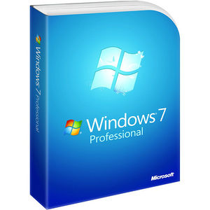 Microsoft FQC-08289 Windows 7 Professional With Service Pack 1 64-bit - License and Media - OEM