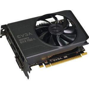 EVGA 02G-P4-3751-KR GeForce GTX 750 Ti Graphic Card - 1.02 GHz Core - 2 GB GDDR5 - PCIE 3.0 x16