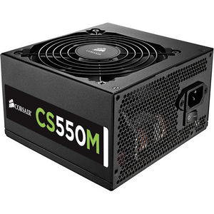 Corsair CP-9020076-NA CS Series Modular CS550M - 550 Watt 80 PLUS Gold Certified PSU