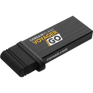 Corsair CMFVG-64GB-NA Flash Voyager GO - 64GB PC/Mobile Flash Storage Drive