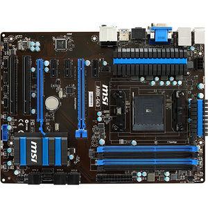 MSI A88X-G43 Desktop Motherboard - AMD Chipset - Socket FM2+
