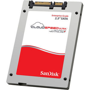 "SanDisk SDLFODAM-400G-1HA1 CloudSpeed Ultra 400 GB 2.5"" Internal Solid State Drive - SATA"