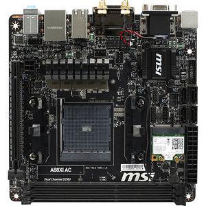 MSI A88XI AC Desktop Motherboard - AMD Chipset - Socket FM2+